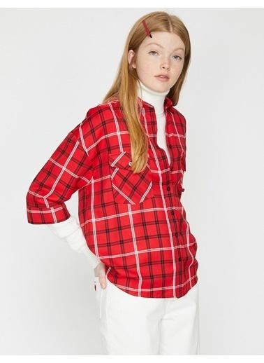 Koton Gömlek Kırmızı